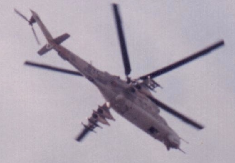 Cold War helicopter