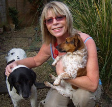 Sheryl with dogs