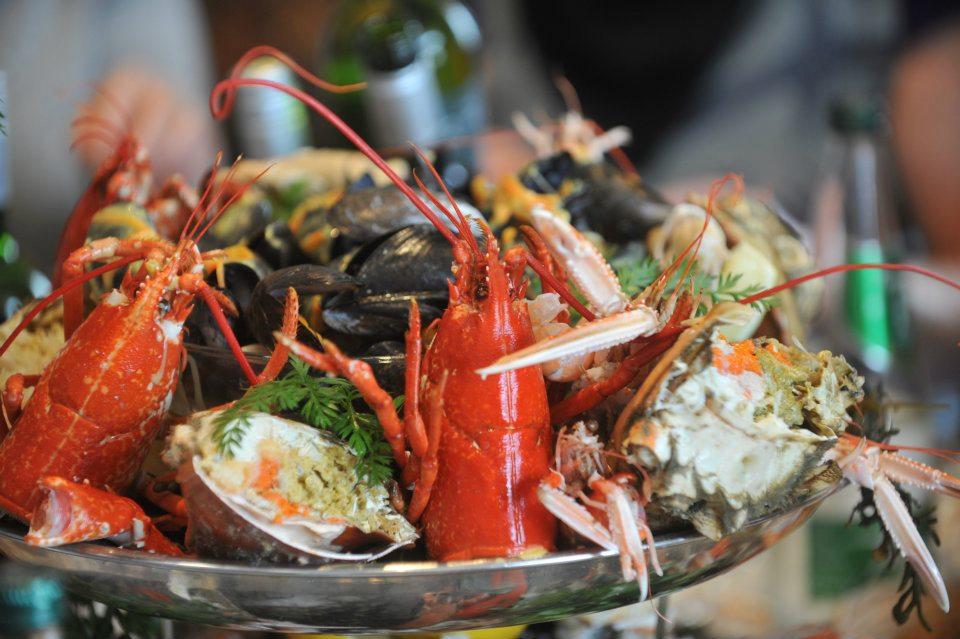 Seafood in Kinsale