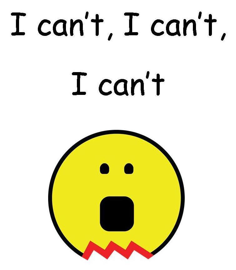 I cant I cant